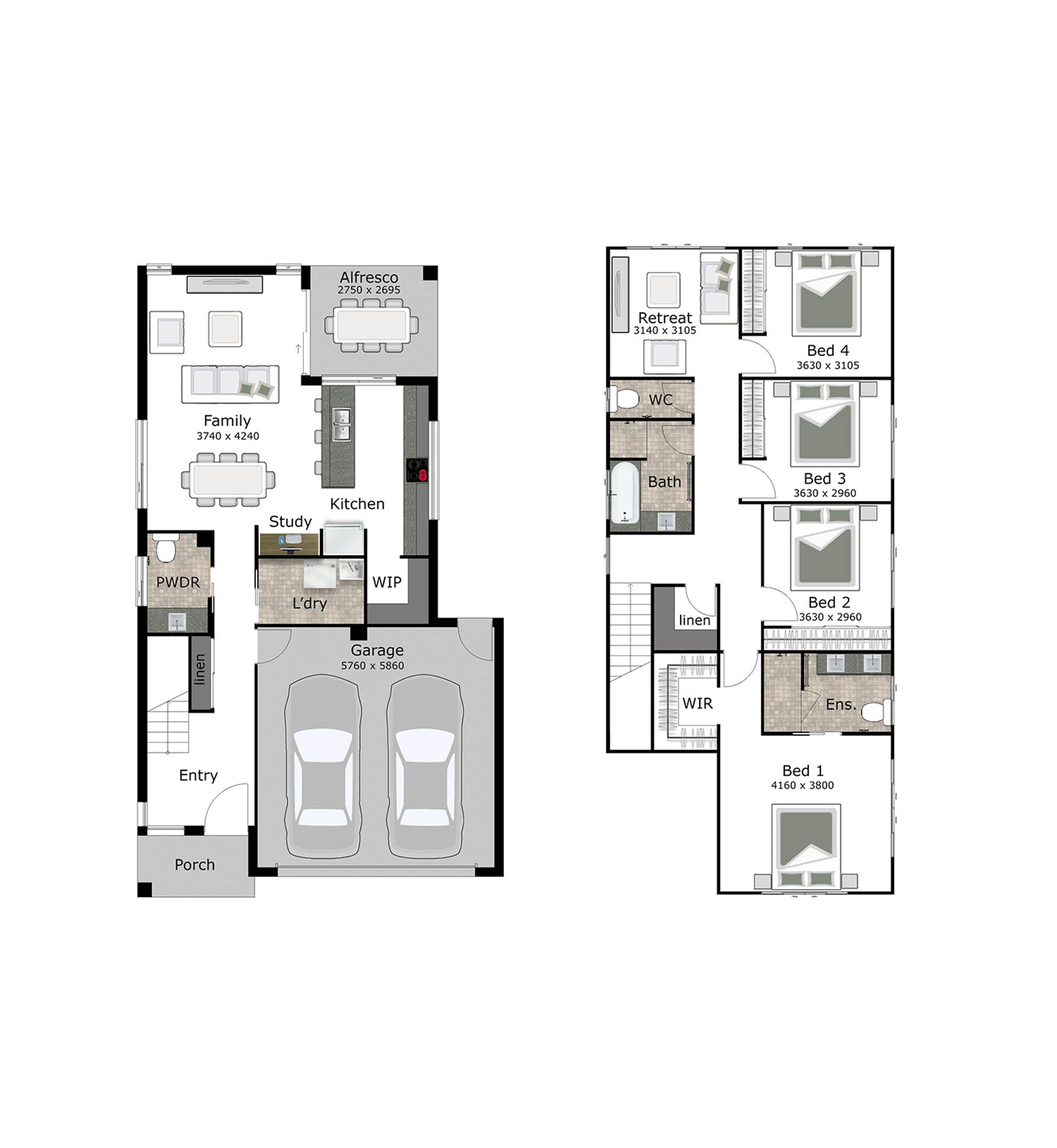 Avalon Coloured Floorplan (low Res)
